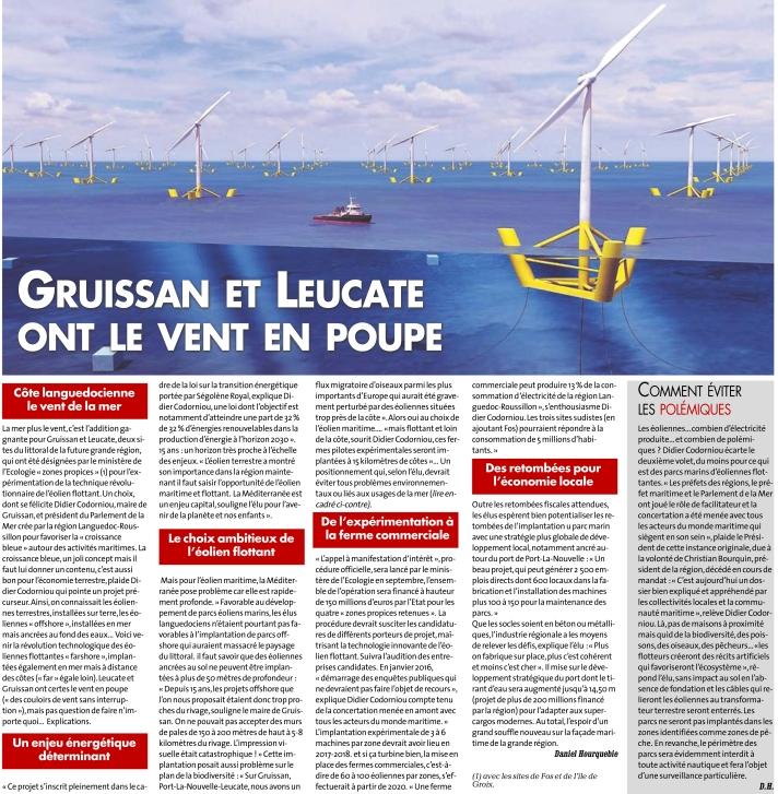 Article paru sur la Dépêche du 23/07/2015