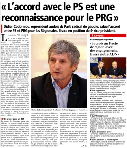 L'Indépendant 30 juillet 2015