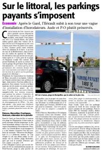 Midi Libre 30 juillet 2015