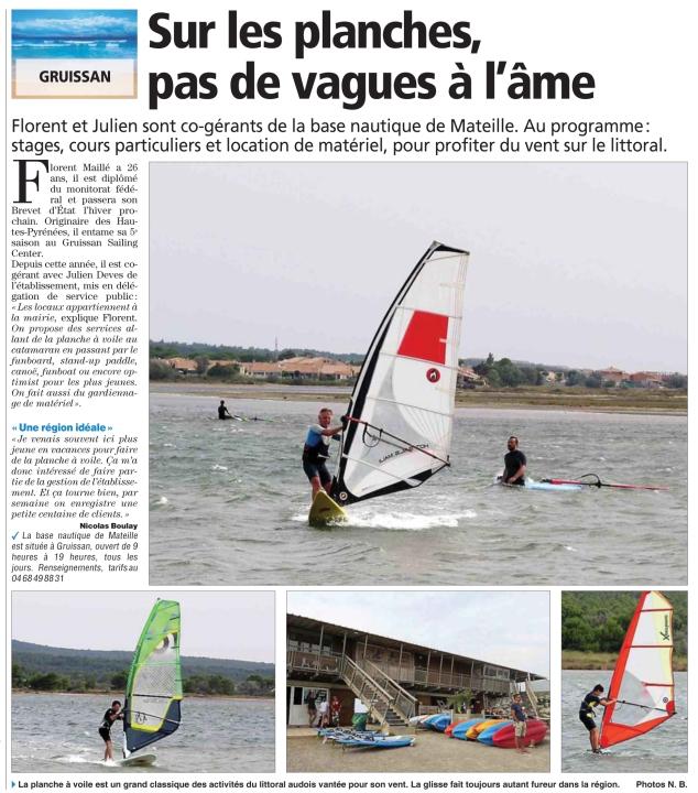 Indépendant Narbonne 10 août 2015