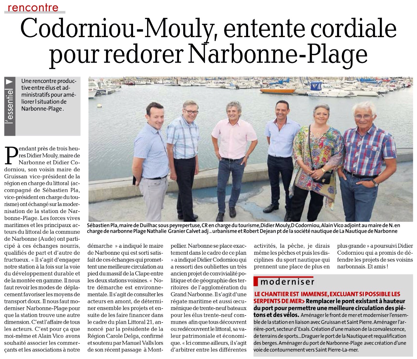 Rencontres narbonne plage